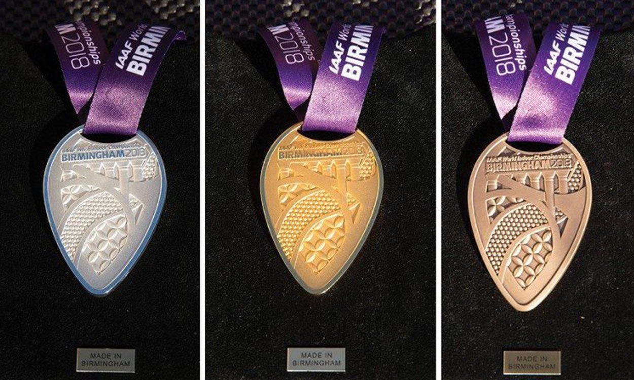 Birmingham 2018 Medals