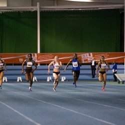 Hannah Brier retains 60m title on day one at BUCS Indoor Championships