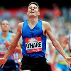 """Chris O'Hare is """"ready to roll"""" at the Millrose Games"""