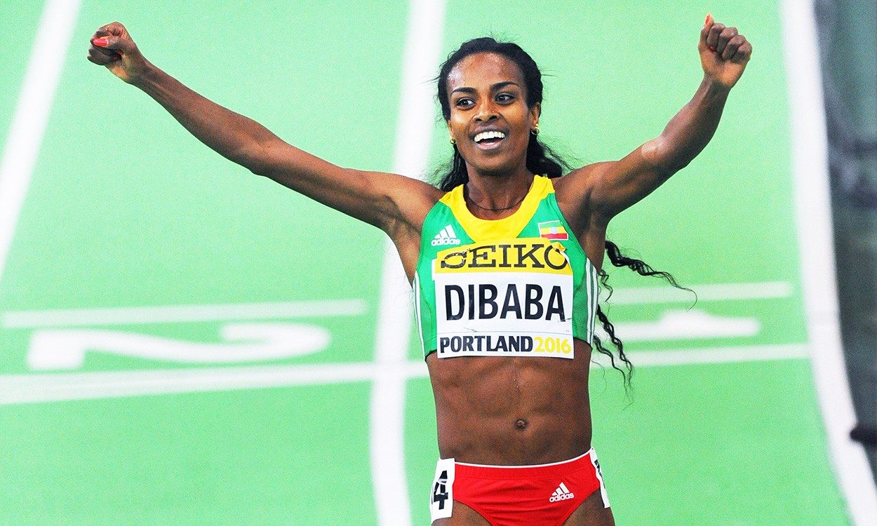 Genzebe Dibaba set for World Indoor Championships double