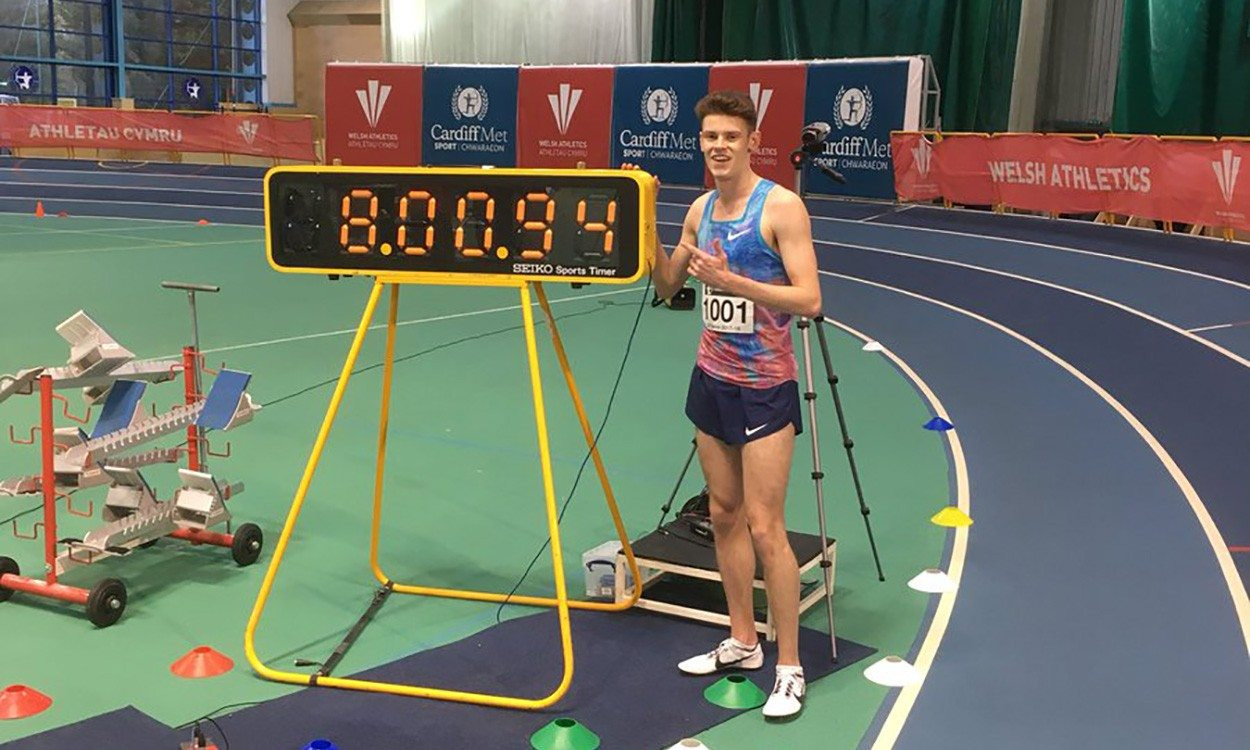 Jake Heyward breaks British U20 indoor 3000m record – weekly round-up
