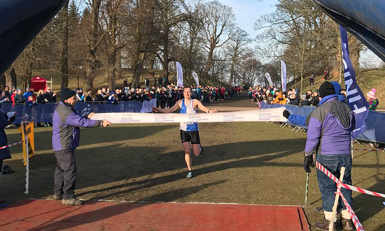 Kristian Jones and Mhairi Maclennan crowned Scottish cross country champions