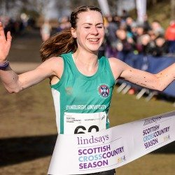 Kris Jones and Mhairi Maclennan crowned Scottish cross country champions