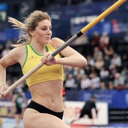 Molly Caudery hopes to use excitement to her advantage in Gold Coast