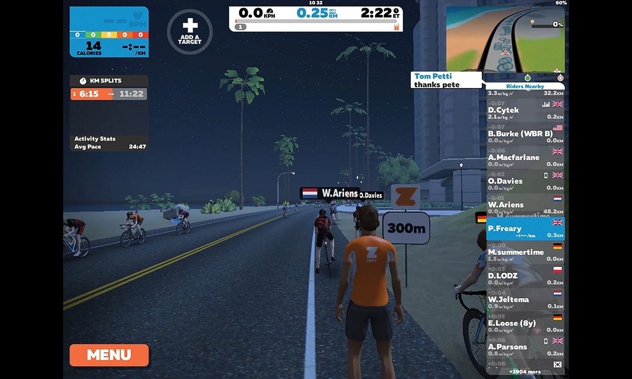 What's new? Zwift