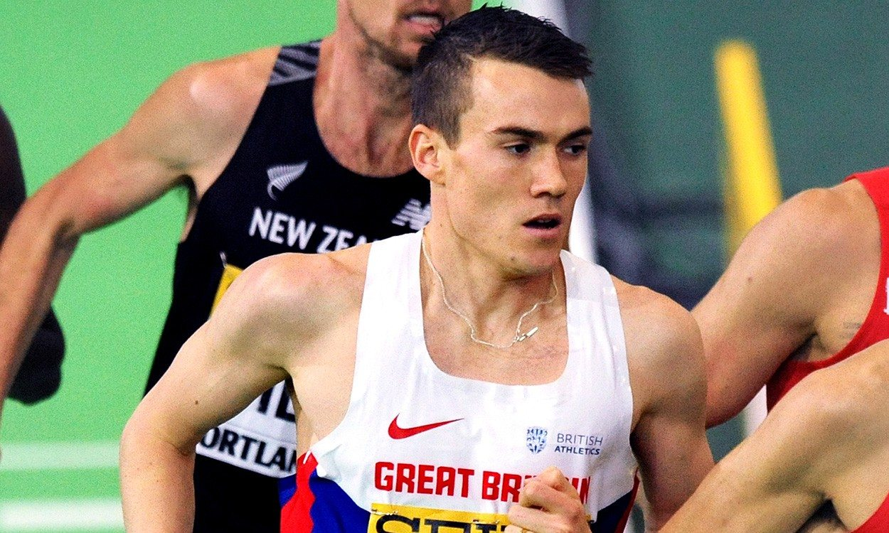 """Chris O'Hare """"ready to roll"""" at World Indoor Championships"""
