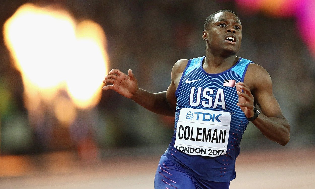 Christian Coleman has the world at his feet