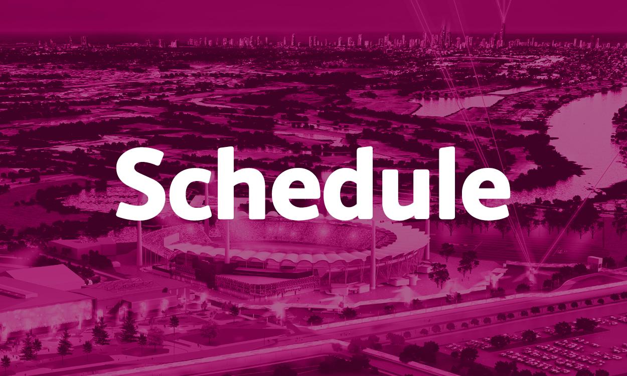 IAAF World Indoor Championships Timetable