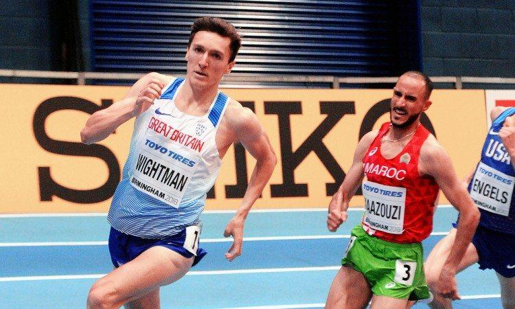 Jake Wightman World Indoors heat 1500m by Mark Shearman