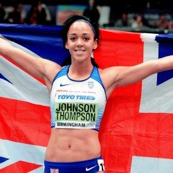 World indoor gold for Katarina Johnson-Thompson