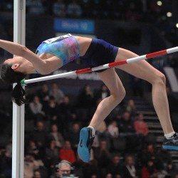 Maria Lasitskene wins world indoor gold as spotlight shines on high jump