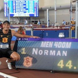 Record-breaking performances at NCAA Indoor Championships