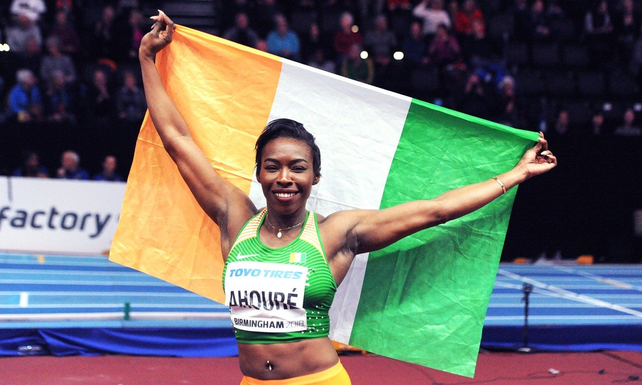Ivory Coast claims world 60m one-two as Murielle Ahoure goes sixth all-time