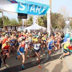 Olivera Jevtic and Simon Kiprugut Kirui win Limassol Marathon