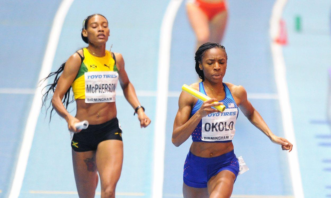 USA's women reign in relay as GB bag bronze in Birmingham