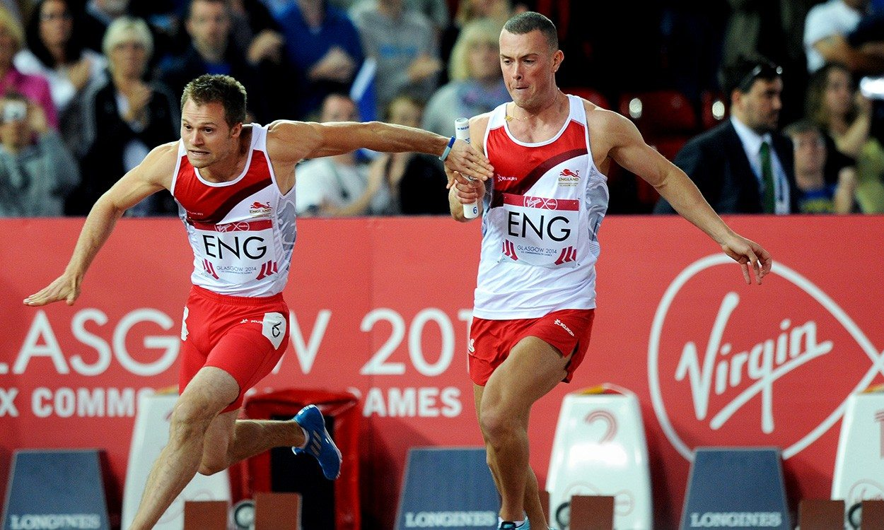 Richard Kilty and Sophie McKinna added to Team England for Gold Coast