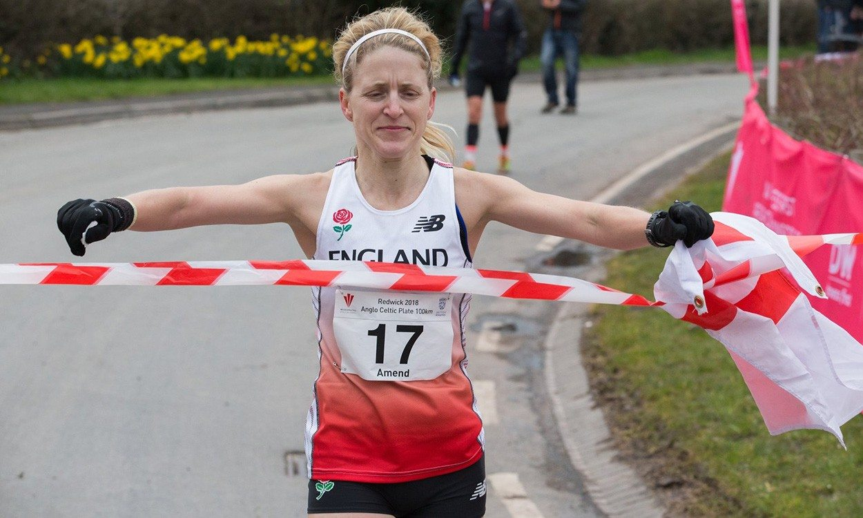 Samantha Amend and Rob Turner win 100km Anglo Celtic Plate titles