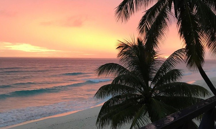 Sunset-view-from-balcony-Run-Barbados