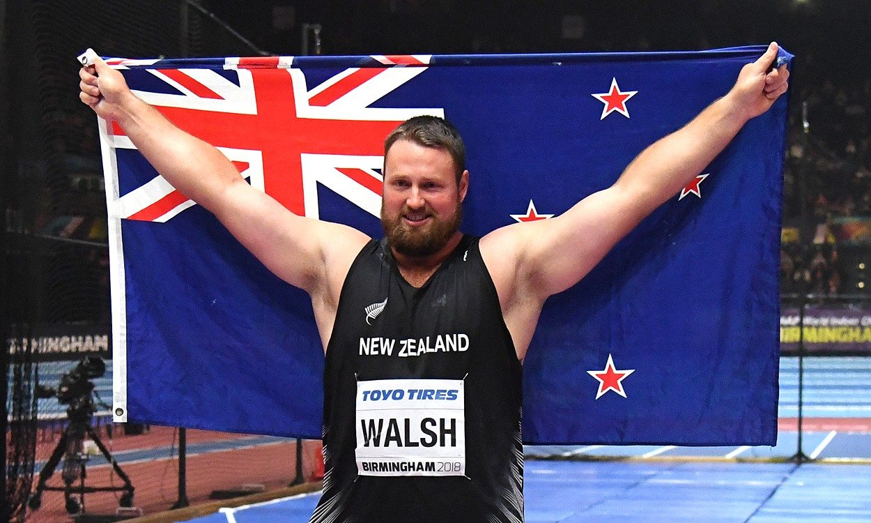 Record-breaking Tom Walsh stars in historic shot put contest