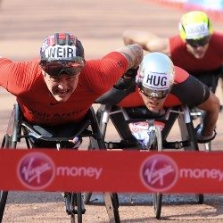 David Weir storms to eighth London Marathon win