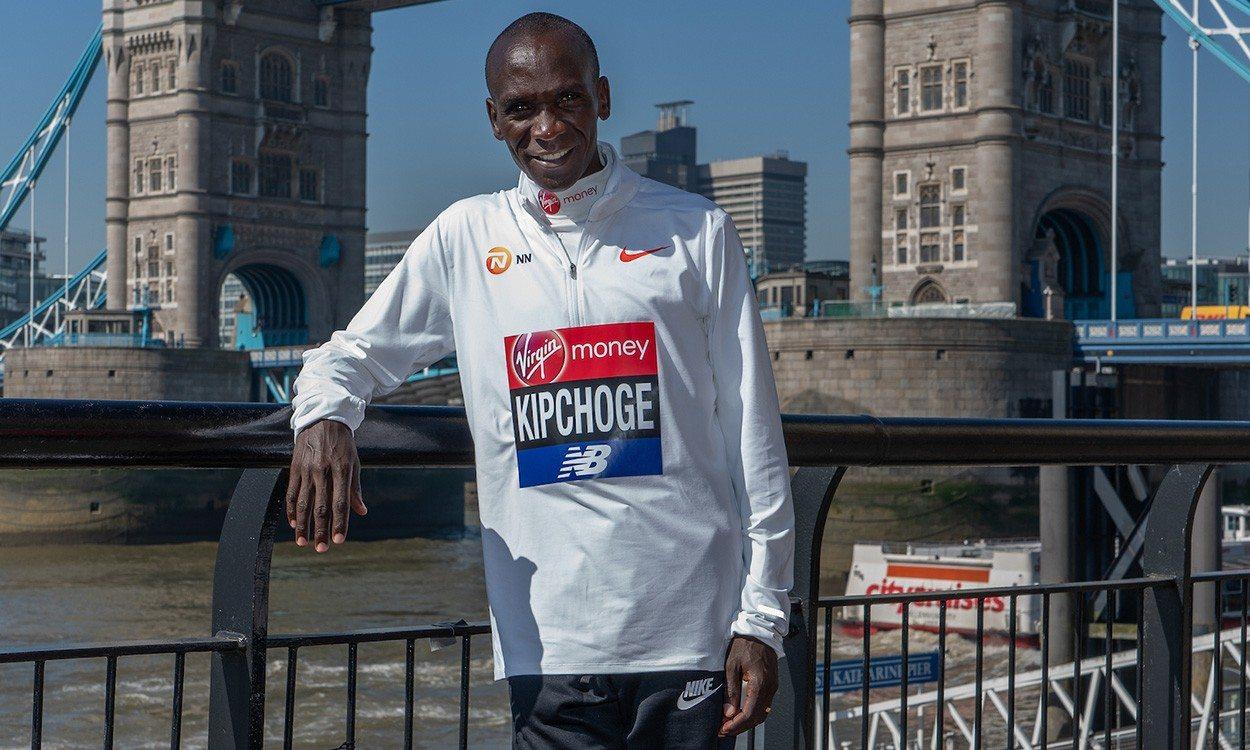 I'm still a student of running, says marathon star Eliud Kipchoge