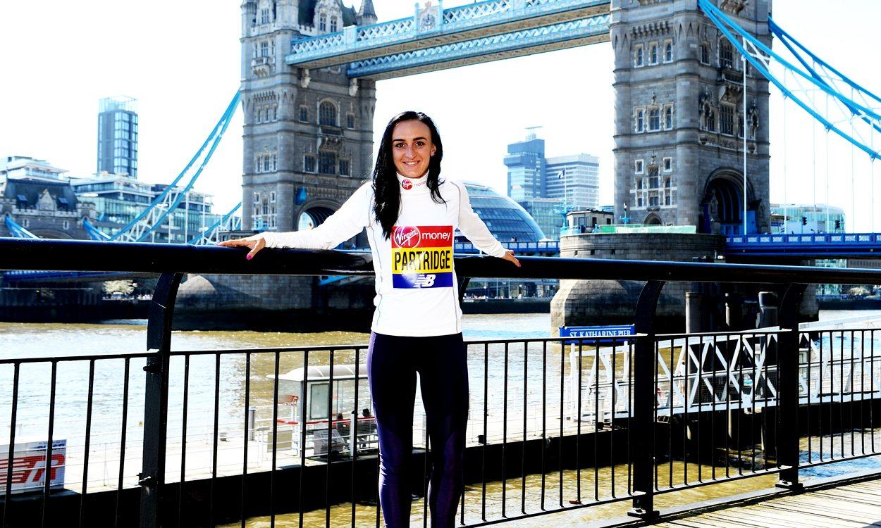 Lily Partridge's marathon motivation