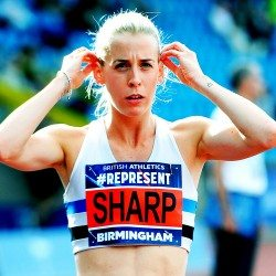 A change of plan for Lynsey Sharp