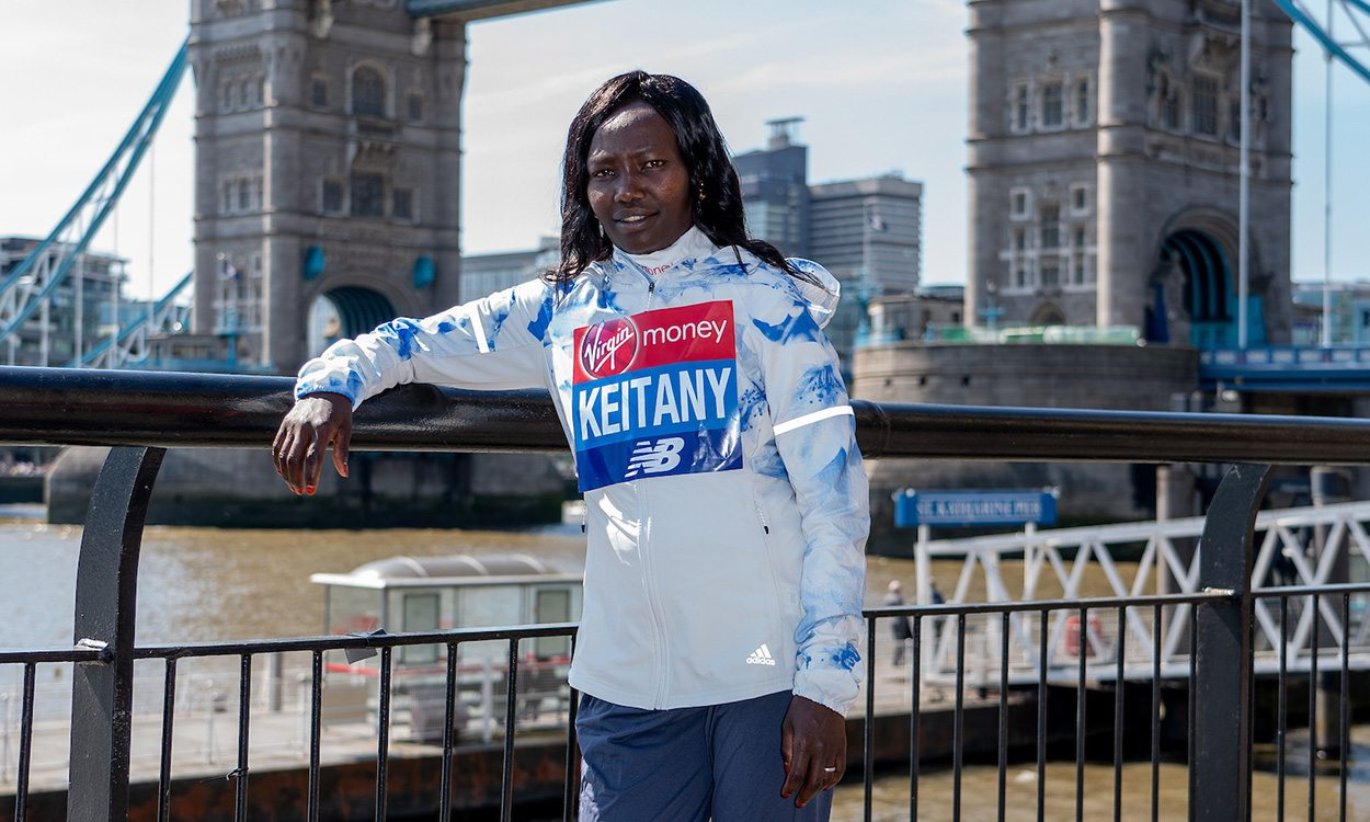 Marathon world record remains aim for Mary Keitany in London