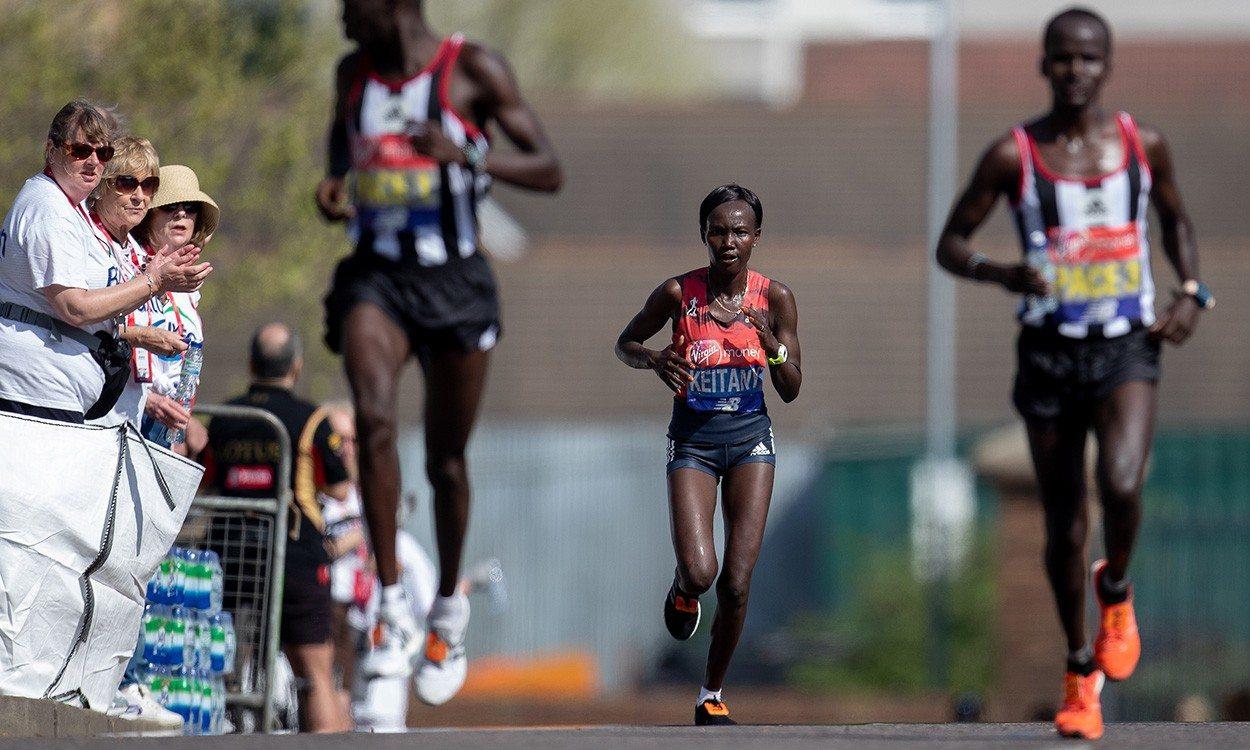 Mary Keitany maintains world record-breaking mindset