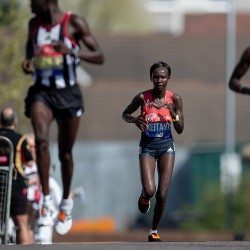 Mary Keitany maintains world record-breaking mindset