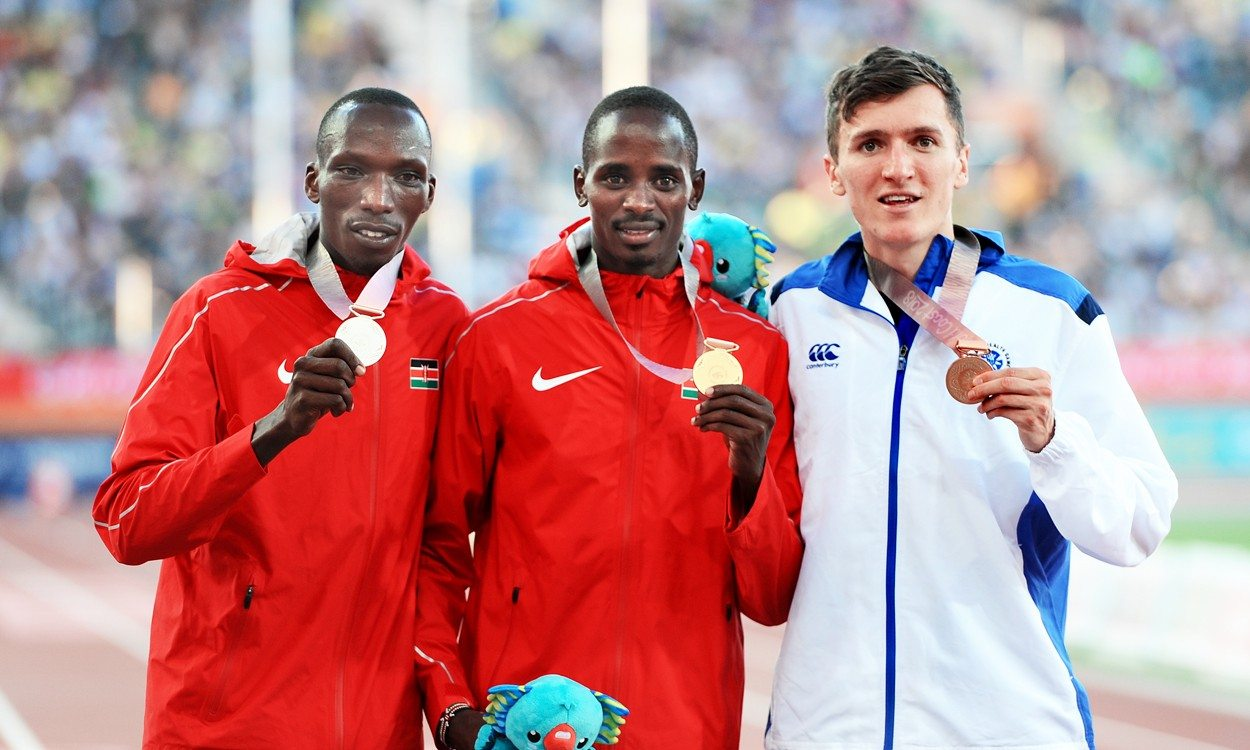 Jake Wightman claims Commonwealth 1500m medal as Elijah Manangoi gets gold