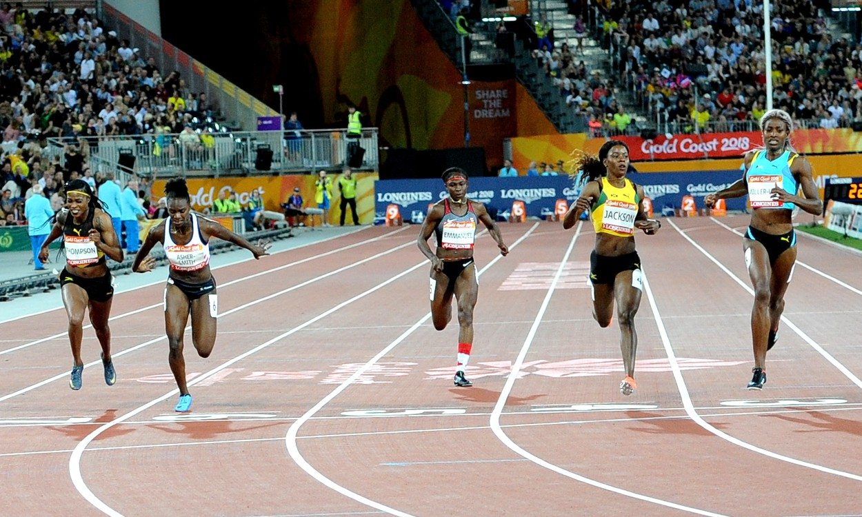 Miller-Uibo storms to 200m title, Asher-Smith bags bronze on Gold Coast