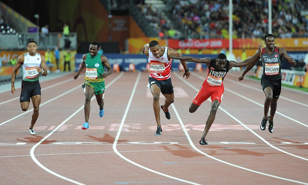Zharnel Hughes and Kyle Langford so close to Commonwealth gold