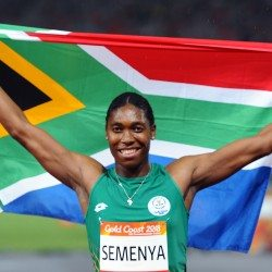 Caster Semenya wins 1500m on Gold Coast as Melissa Courtney bags bronze