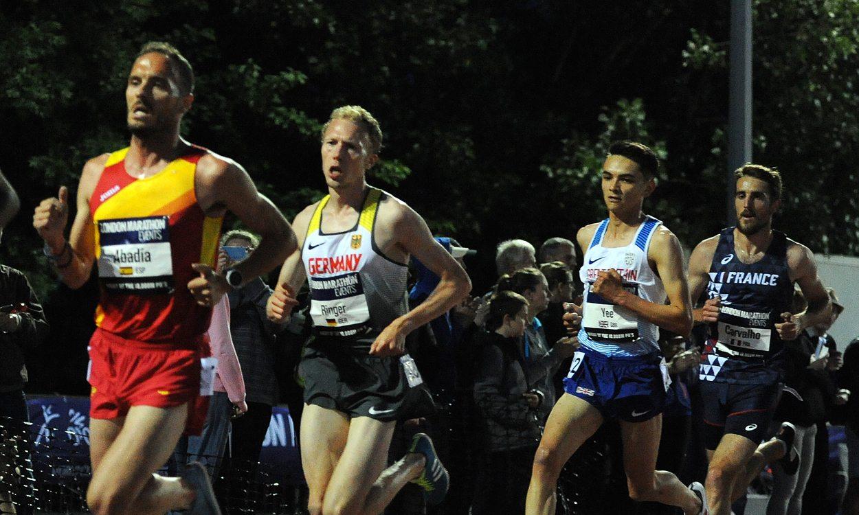 Alex Yee excels in 10,000m debut