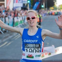 Charlotte Arter breaks Welsh all-comers' record for 5km title