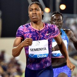 Semenya and Samba among winners at high-quality Doha Diamond League