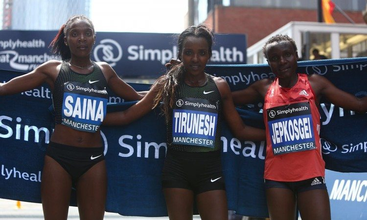 Dibaba,-Jepkosgei-and-Saina-Great-Manchester-Run-2018-by-Phil-Oldham