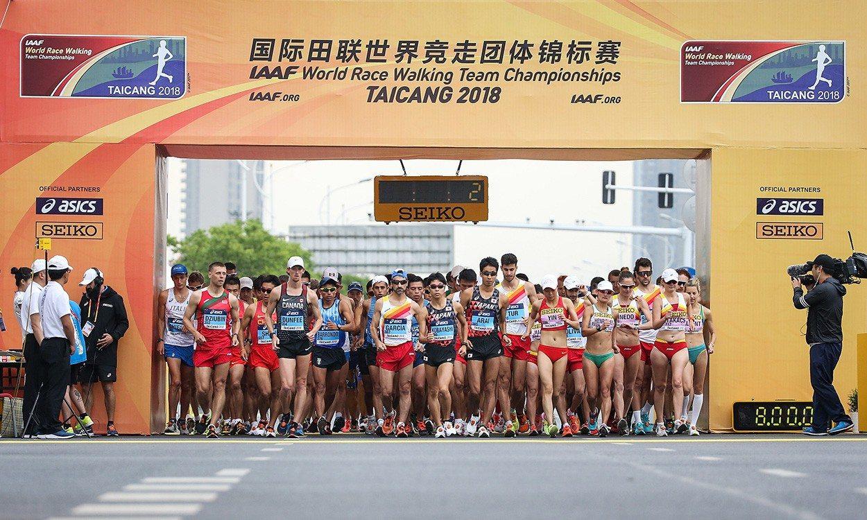 China tops medal table at World Race Walking Team Championships