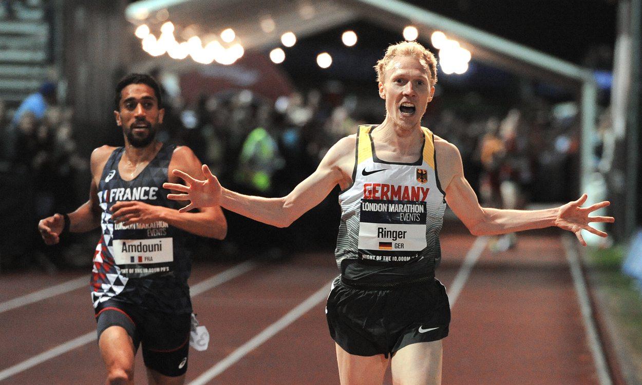 Richard Ringer wins Euro 10,000m Cup thriller