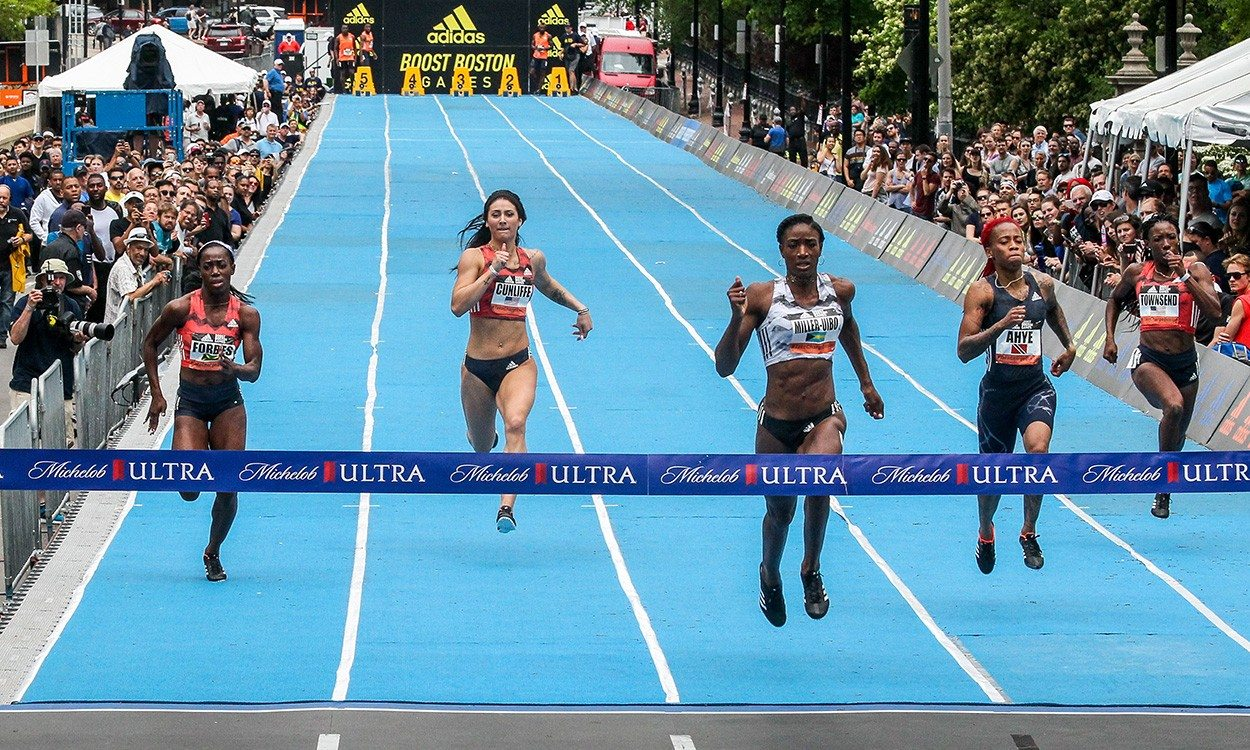 Shaunae Miller-Uibo breaks world 150m best in Boston – weekly round-up
