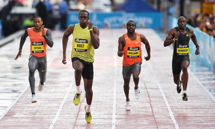 How Usain Bolt's street sprint created history
