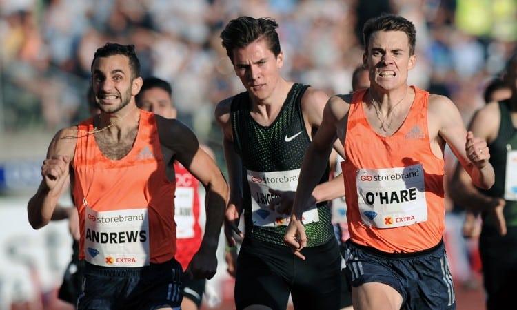 Chris O'Hare Oslo 1500m 2018 by Mark Shearman
