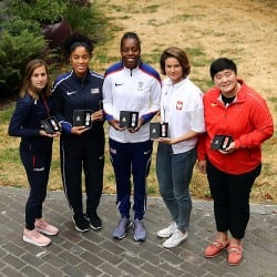Team captains ready to go for Athletics World Cup glory
