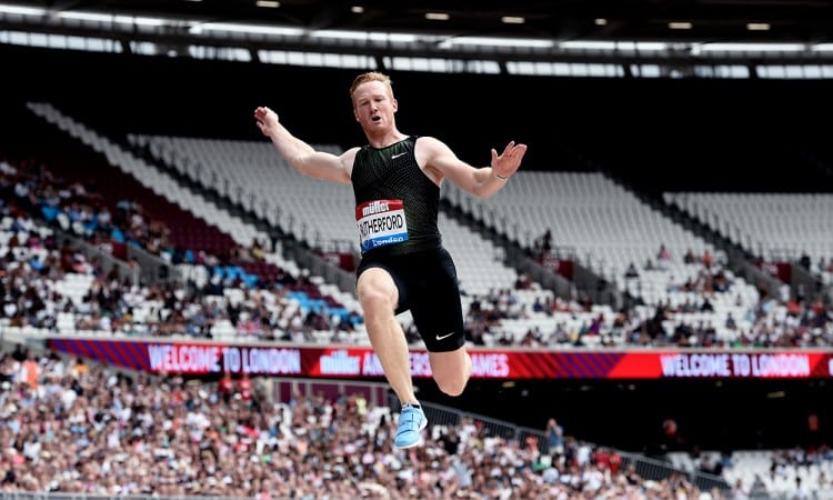Greg Rutherford bids emotional farewell in London finale