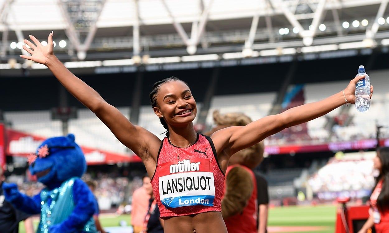 Imani-Lara Lansiquot following in fast footsteps