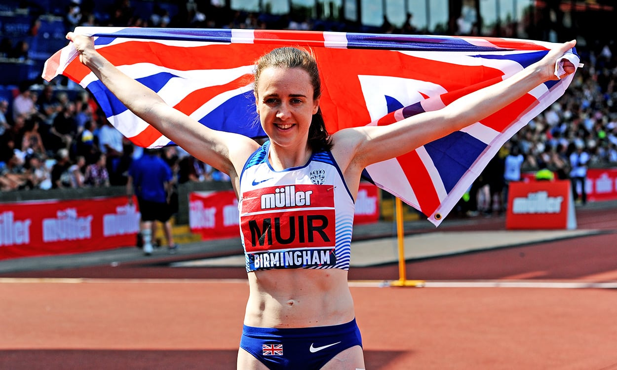 Laura Muir will feed off being 1500m favourite
