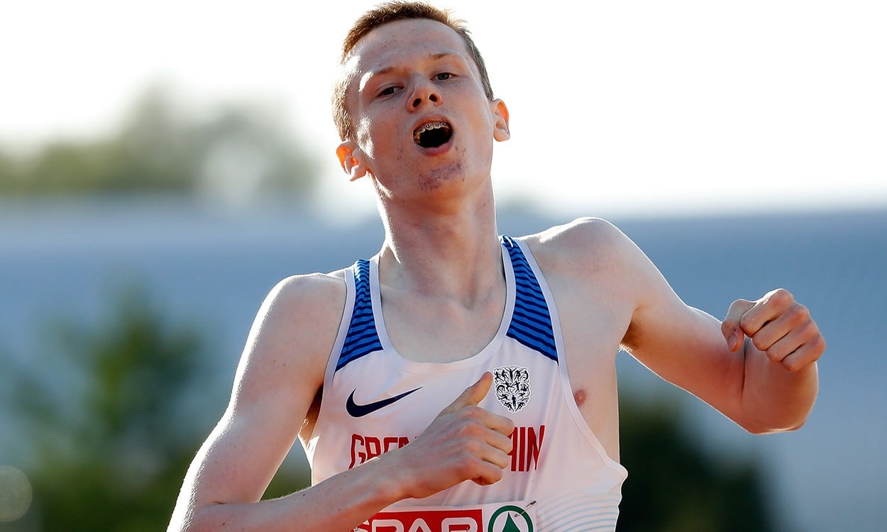 Max Burgin gets gold as GB tops Euro U18s medal table