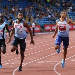 Nethaneel Mitchell-Blake breaks championship best for British 200m gold