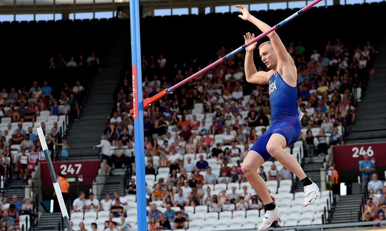 Sam Kendricks helps USA team to Athletics World Cup glory